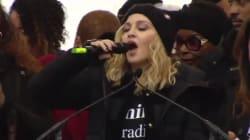 L'apparition surprise et très engagée de Madonna à la