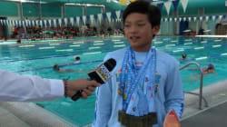 Questo bambino di 10 anni ha battuto un record che Phelps deteneva da 23