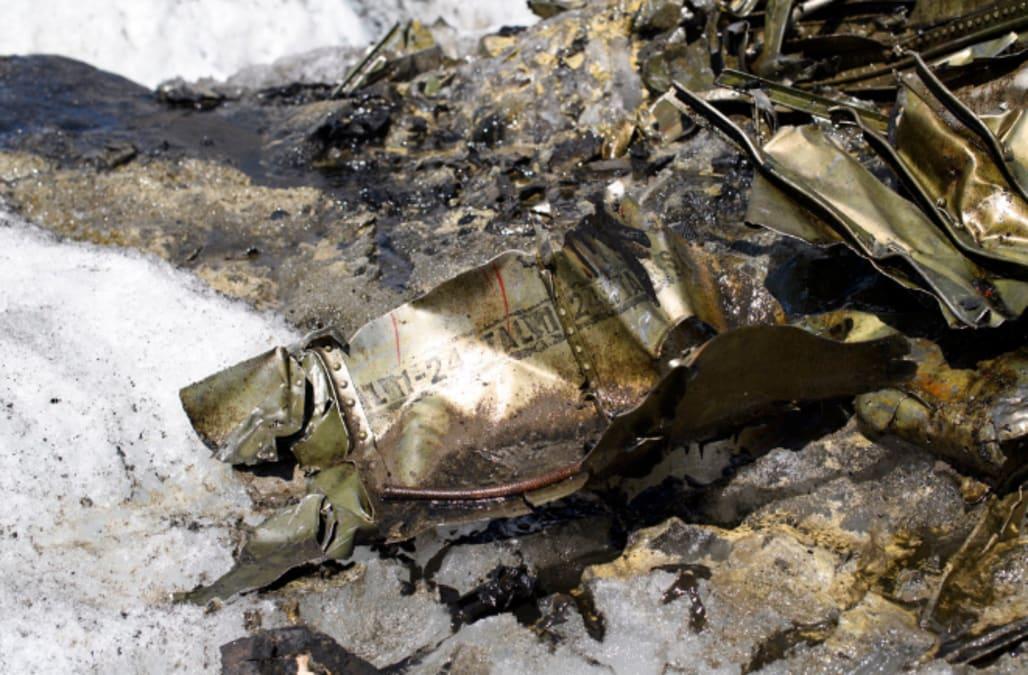 Long-lost US WWII 'Dakota' plane found in melting Swiss glacier