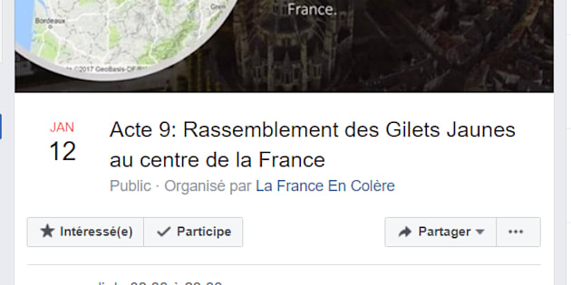 """L'acte 9 des gilets jaunes à Bourges """"non autorisé et illégal"""", selon la préfecture."""
