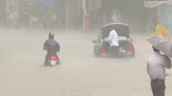 PHOTOS: Scenes From Mumbai Before And After The Rain That Brought It To A