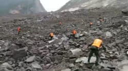 Un glissement de terrain en Chine ensevelit plus de 120