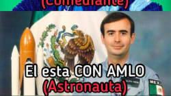 Esta es la diferencia entre un comediante y un astronauta, según Rodolfo