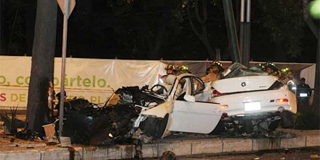Ratifican prisión preventiva a conductor que se accidentó en Reforma