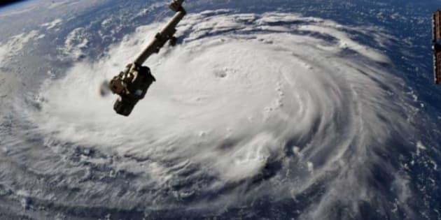 El satélite que captó el ojo de este huracán muestra que se fortalece con vientos cercanos a los 200 km/hora.