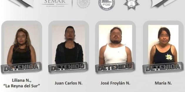 """Liliana """"N"""" fue capturada este jueves tras un operativo estatal."""