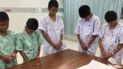 La reacción de los niños de Tailandia cuando supieron del buzo que murió