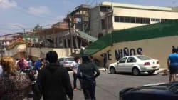 Ocho niños y una maestra mueren en colapso de escuela Enrique