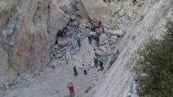 Derrumbe de mina en Hidalgo deja dos personas