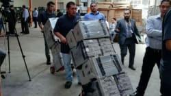 Inicia traslado de más de 7 mil paquetes electorales de los comicios en