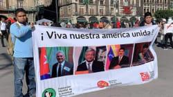 Mexicanos dan respaldo a Maduro en el