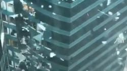 Les images hallucinantes qui témoignent de la violence du typhon