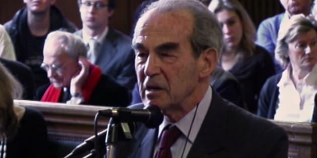 Robert Badinter, meilleur procureur contre Robert Faurisson