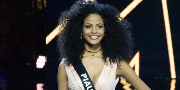 """E o terceiro é o caso da Miss Brasil Monalysa Alcântara que, mesmo coroada, foi chamada de """"empregadinha""""."""