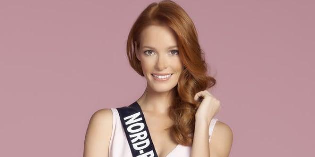 Miss Nord-Pas-de-Calais Maeva Coucke- Studio candidates Miss France 2018