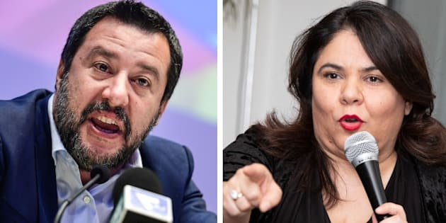 """Matteo Salvini a Michela Murgia: """"Radical chic"""". L"""
