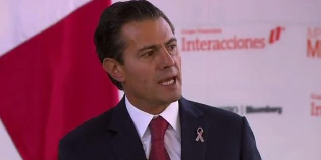 Sociedad también ha fallado en combate a corrupción: EPN