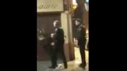 La policía identifica al agente grabado golpeando a una mujer en