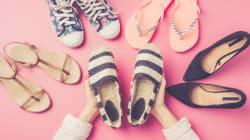 Por qué las sandalias y los zapatos planos pueden ser dañinos para la