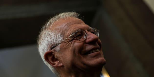 Josep Borrell, el pasado 7 de junio, en su toma de posesión de la cartera de Exteriores.
