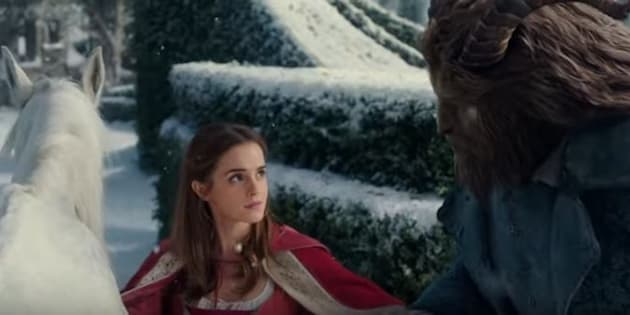 The official trailer for 'Beauty and the Beast' has been released.