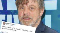 Déterré par Luke Skywalker, ce vieux tweet de Trump lui revient à la