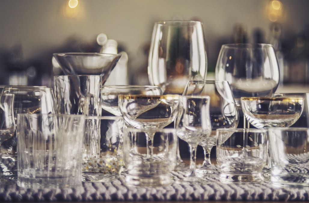 6 types of cocktail glasses and what they're used for, according to an expert