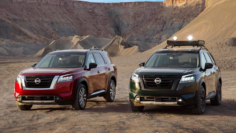 2022 Nissan Pathfinder revealed with new design and no more CVT