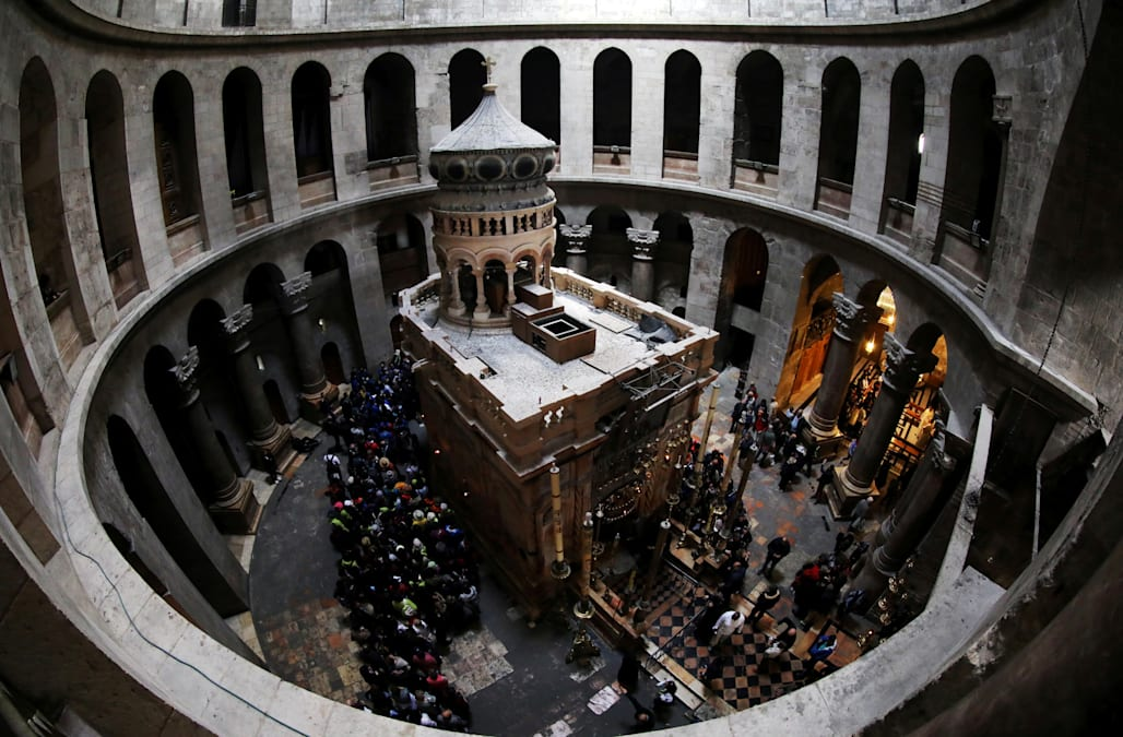 Jew Detector: Jerusalem's Church Of Holy Sepulchre Reopens After Protest