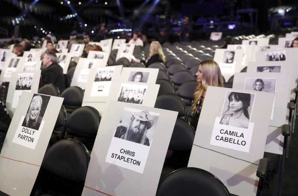 Grammys 2019 Seating Chart Revealed Find Out Whos Sitting Next To