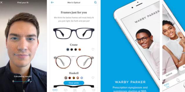 La reconnaissance faciale de l'iPhone X peut servir à... essayer des lunettes.