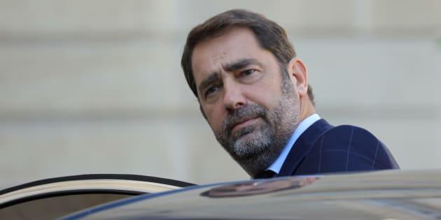 """Christophe Castaner a reproché au Sénat de vouloir """"s'arroger un pouvoir de destitution du président de la République""""."""