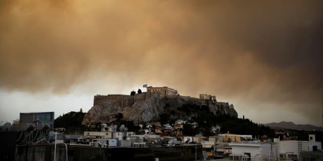 Je viens d'être témoin des incendies en Grèce, voici ce que j'ai vécu heure par heure.