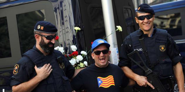 Un conte catalan avec les Mossos, la police régionale