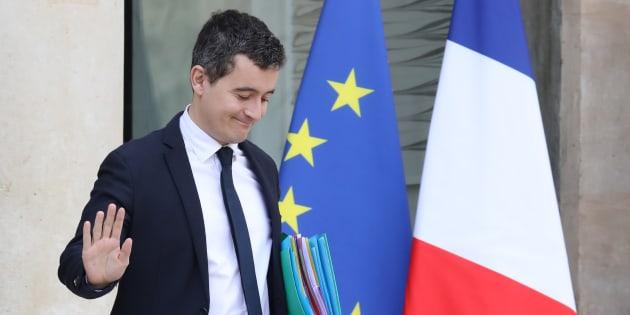 El ministro de Hacienda francés, GéraldDarmanin.