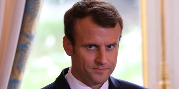 """Macron """"regrette"""" le terme """"bordel"""" mais """"assume sur le fond""""."""