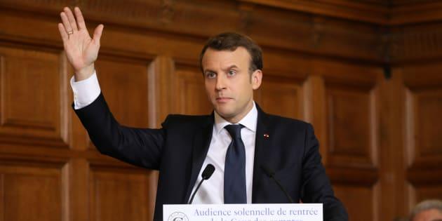 """Macron si fa la sua """"contro Davos"""""""