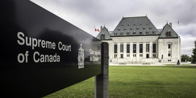La Cour suprême du Canada.