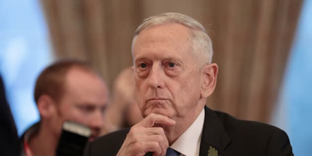 Le ministre américain de la Défense, Jim Mattis.