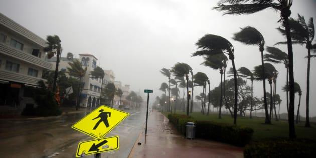 La Floride frappée par l'ouragan Irma, déjà plusieurs victimes