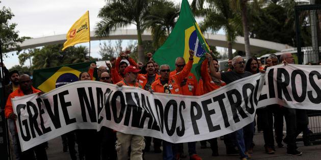 Apesar da decisão do TSE contrária à greve, Petroleiros mantém a paralisação por 72 horas.