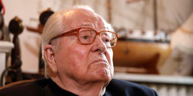 Jean-Marie Le Pen, le 27 février 2018.
