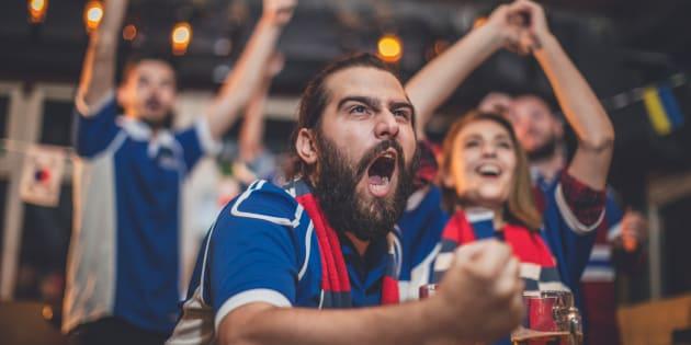 Devant un match de foot, 25% des Français tiennent des propos homophobes