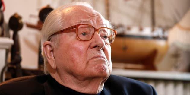Jean-Marie Le Pen est sorti de l'hôpital.