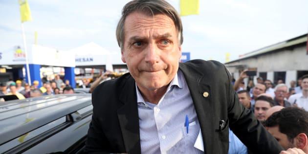 Jair Bolsonaro, candidato à Presidência pelo PSL.