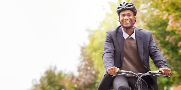 You could be this happy biking to work too!