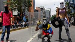 EN FOTOS: Las máscaras de la oposición en