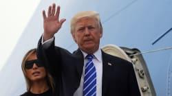 En Pologne, Trump commence une tournée européenne qui s'annonce