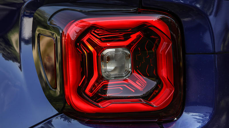 2019 Jeep Renegade Previewed By Taillight Photo Autoblog