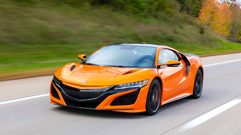 2019 Acura NSX Track Test Review